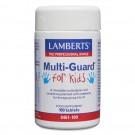 PLAYFAIR (Tuggbara en om dagen multi vitaminer kosttillskott för barn) (100 tabletter)